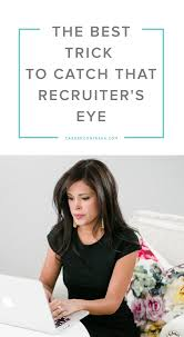the best trick to catch that recruiter s eye to be the o jays recruiters can easily distinguish a good candidate from a great one and if you nail · interview preparationsinterview