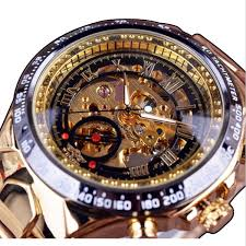 WINNER <b>Fashion</b> Shining Roman Numerals Mechanical Watch ...