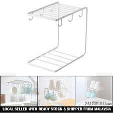 <b>Iron Metal</b> Coffee Cup Hanger Storage Rack Organizer <b>Nordic Style</b> ...