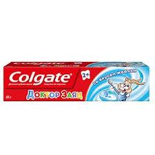 Гелевая <b>зубная паста для детей</b> Colgate® Доктор Заяц со вкусом ...