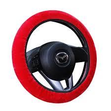 <b>E FOUR Car Steering</b> Cover Handbrake Grips Gear Shift Collars 3 In ...