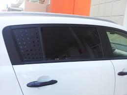 <b>Накладки</b> на <b>стекла задних</b> дверей — KIA Sportage, 2.0 л., 2010 ...
