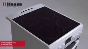 <b>Электрическая плита Hansa</b> FCCW58240 Integra - YouTube