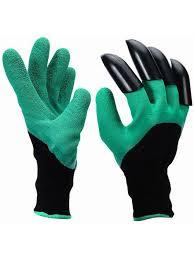 <b>Садовые перчатки</b> с когтями для огорода Blonder Home 4434801 ...