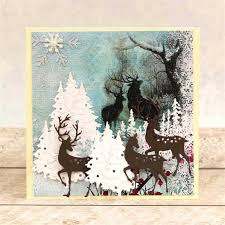 <b>YaMinSanNiO</b> Christmas <b>Metal</b> Cutting Dies Deer Dies ...