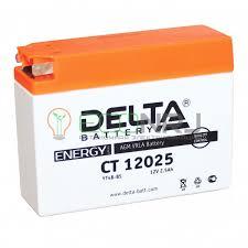 <b>Аккумуляторная батарея Delta</b> CT 12025 (Мото АКБ)