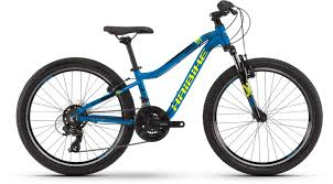 """Haibike Seet HardFour 1.0 24"""" blue/yellow/black - <b>Kid Bike 24 Inches</b>"""