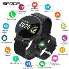 Sanda <b>E28 Smart</b> Watch <b>Fitness Tracker</b> Blood Pressure <b>Smart</b> ...