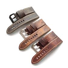 20mm 22mm <b>24mm 26MM Handmade</b> high quality Straps Vintage ...