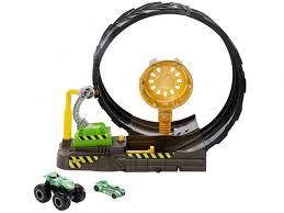 Автотрек Hot Wheels Монстр трак Поединок в воздухе GCG00 ...