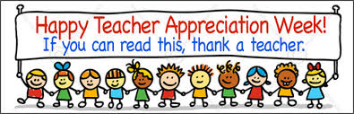 Image result for teacher appreciation week clip art
