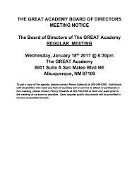 news the great academy bod notice jan182017