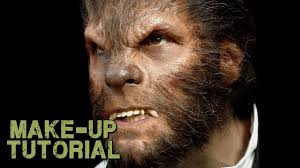 werewolf transformation makeup how to apply wolfman prosthetics