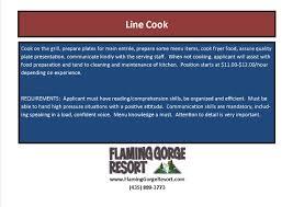 line cook jpg dishwasher prep cook middot line cook
