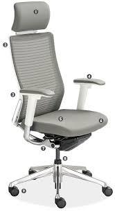 choral headrest office chair anatomy office