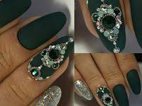 204 Best Lu's <b>Nails</b> - Gems images in 2020 | Gem <b>nails</b>, Bling <b>nails</b> ...