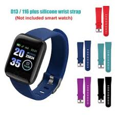 Replacement Silicone Soft Watchband Wrist Strap for 16 Plus ... - Vova