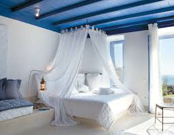 completely coastal blue room white