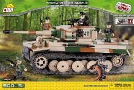 Пластиковый <b>конструктор COBI</b> «Танк Tiger PzKpfw VI Ausf. E» с ...