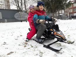 Small Rider Scorpion DUO снегокат снегоход - купить в интернет ...