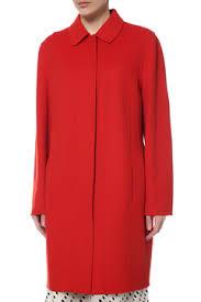 Женские <b>пальто</b> и полупальто цвет КРАСНЫЙ - купить в ...
