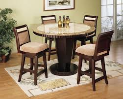 tall dining chairs counter: armen living b counter high dining table