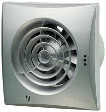 <b>Вытяжной вентилятор Vents 100</b> Quiet алюм. Лак серебристый ...