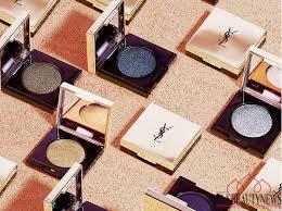 Yves Saint Laurent <b>Sequin Crush Mono</b> Eyeshadows Collection ...
