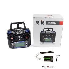 Buy <b>Flysky FS</b>-<b>I6</b> 2.4GHz 6CH PPM Transmitter w/ FS-iA6B Receiver ...