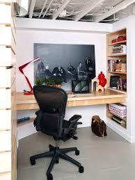 saveemail basement home office ideas