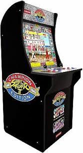 Street Fighter Juegos Arcade <b>Máquina</b> Arcade 1UP <b>3</b> en 1 Juego ...