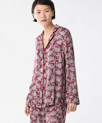 <b>Рубашка с принтом</b> 'Турецкий <b>огурец</b>' красного цвета - ПИЖАМЫ ...