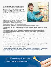 goodwill southwest florida our success stories tamsyn reedus 2013 breakthrough graduate