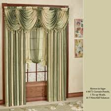 room curtains catalog luxury designs: ombre waterfall valance c  ombre waterfall valance