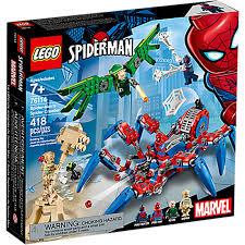 Купить <b>конструктор LEGO</b> Super Heroes <b>Паучий вездеход</b> 76114 ...