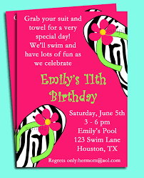 swim party invitations net pool party invitation spa party invitation swim by thatpartychick party invitations