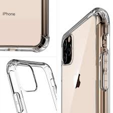 Transparent Phone Case for Iphone 11 Pro Max <b>Airbag Anti drop</b> ...