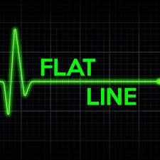 FLAT LINE Poster | madm | Keep Calm-o-Matic via Relatably.com