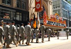 u s department of defense photo essay army national guardsmen in the 2010 chicago memorial day parade on 29 2010