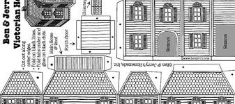 Best Photos of Victorian House Paper Cut Out   Victorian    Victorian Gingerb House Template