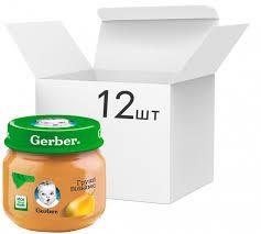 ROZETKA | Упаковка фруктового <b>пюре Gerber Груши</b> Вильямс с 6 ...