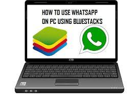 How to use WhatsApp on PC using bluestacks