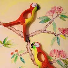 Flamingo <b>Shape</b> Large Clothes Pegs Hanger Plastic <b>Shoes</b> ...