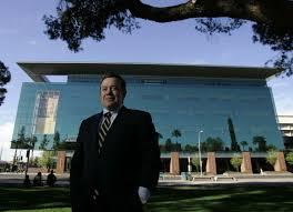 Photo  ASU President Michael Crow