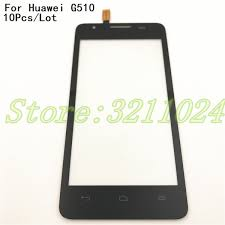<b>10Pcs</b>/<b>Lot Touch Screen</b> Front For <b>Huawei</b> Ascend G510 G520 ...