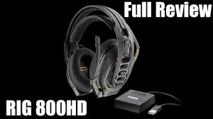 <b>Plantronics RIG 800HD</b> Review - New Best Wireless Gaming ...