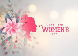 Free Vector | <b>Happy womens day</b> flower decorative card