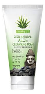 Купить <b>пенка для умывания Jeju</b> Natural Aloe Cleansing Foam ...
