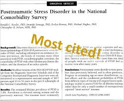 the 20 most influential papers on posttraumatic stress trauma which