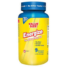 Energize - The All Day Energy Pill (84 Tablets) by Isatori Sports ...